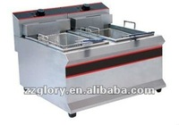 double Tanks commercial Electric Chips Fryer