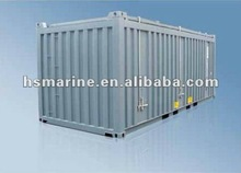 Open Top Container With Hard Roof