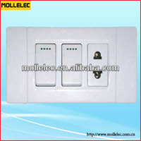 USA standard wall switch and socket