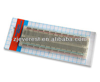 Electronic Components Designing and Testing Project Board, 830 Clear Breadboard