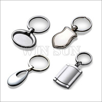 2013 Novelty custom blank keychain metal promotional products
