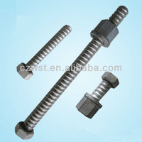 Formwork cold rolled tie rod with bolts 15/17mm