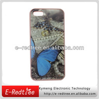 water transfer printing hard oem cover mobile phone case for iphone 5s