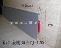 decorative wood moulding skirting board,pvc kitchen skirting board