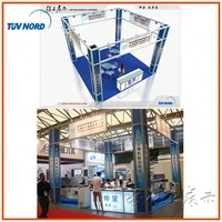 Aluminum Modular exhibition stand tent with modern design