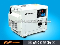ITCPower DG6000SE-3 5kW silent soundproof electric genset power