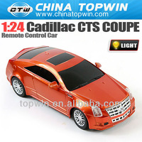 1 24 Cadillac CTS COUPE remote control car RC CAR [REC3756073] new &hot rc stunt car