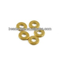 Brass beads 6X6mm beading spacers