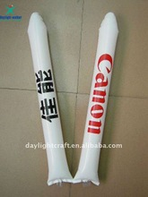 Fashion Party 2015 basketball fighting PE Inflatable bang stick for sale