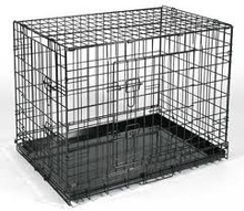 foldable wire pet cage in china