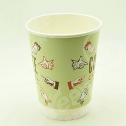 paper cup and glass,12oz printed and colorful disposable paper cups,perfect touch paper cup