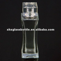 crystal cosmetic bottle glass perfume wholesale for lady