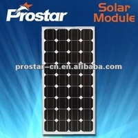 high quality 80w monocrystalline silicon solar pannel