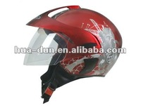 Light weight DOT approved open face motorcycle helmet