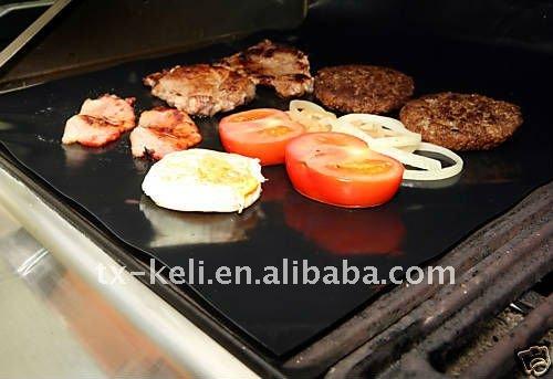 Fit Voor Kookplaat En Weber BBQ Geen Behoefte Voor Vet Of Olie PTFE Gecoat non-stick BBQ Hot Sheet