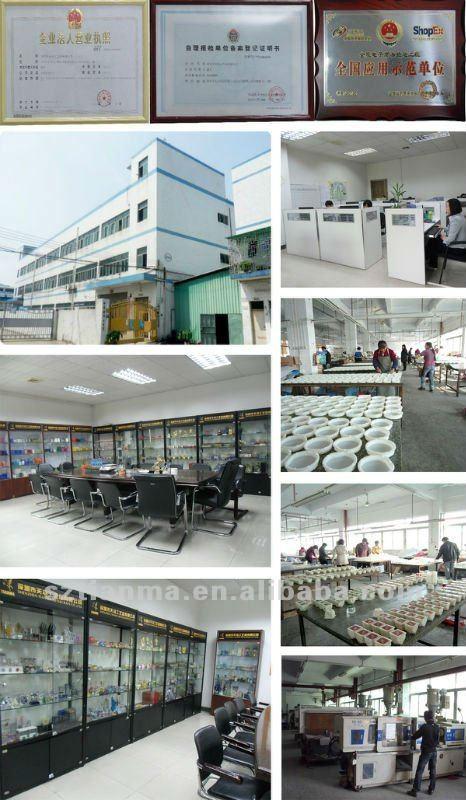 Clear Acrylic Bathroom Accessories Factory 200ml