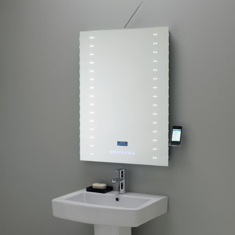 High End Touch Screen Bathroom Mirror