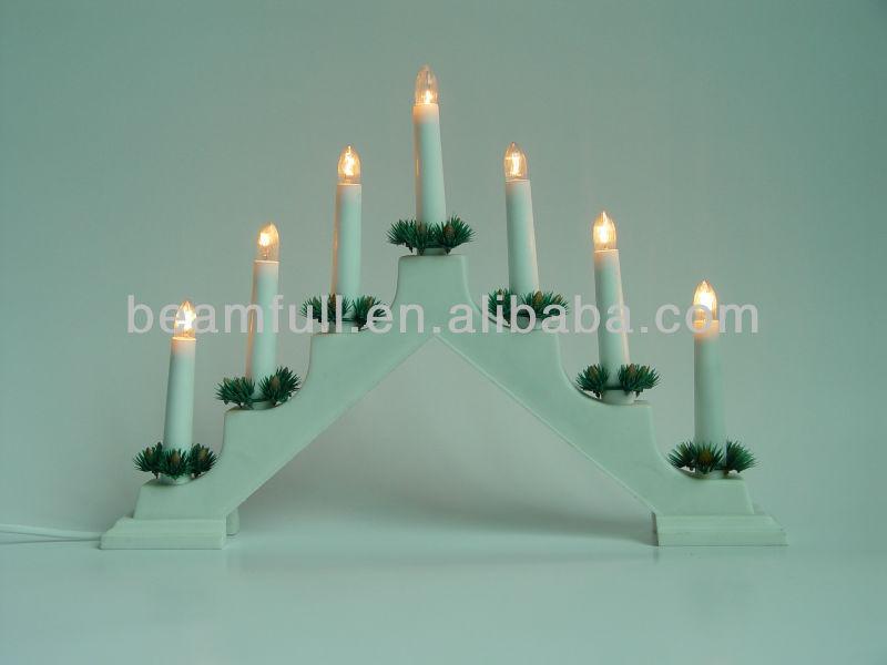Kerzenlicht 2015 Kerzenlicht Aus Holz Led-licht Mit 7 Lampen - Buy ...