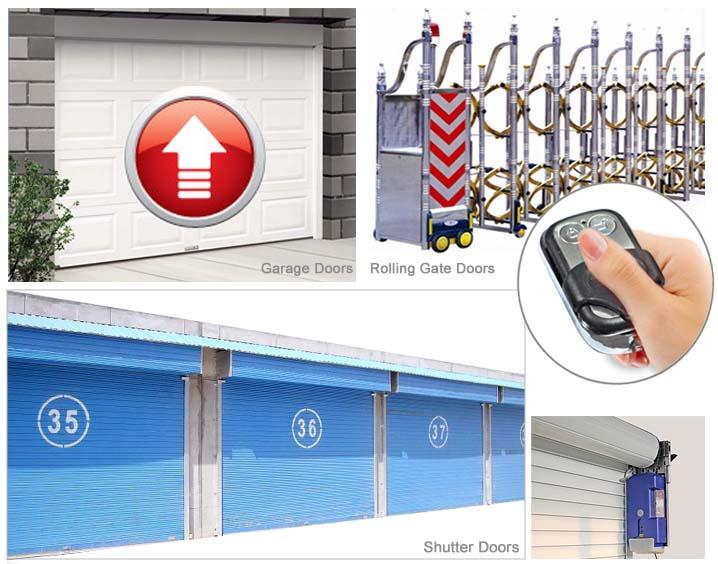 Italiana famosa marca original design Portas e portão ou da porta da garagem controlador módulo