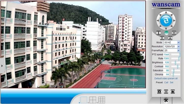 Wanscam outdoor Night Vision HD Cheap 720P P2P Camara IP
