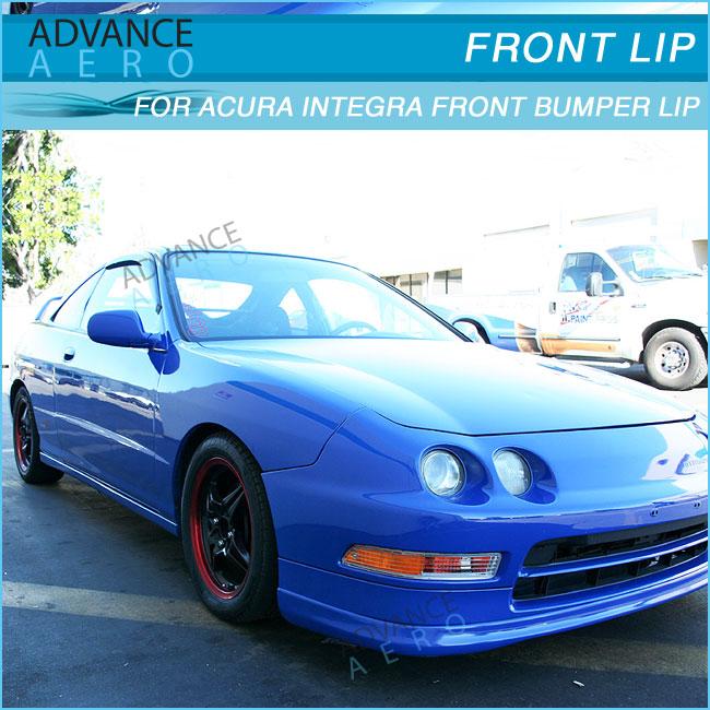 For Acura Integra 94-97 Tr Style Pu Front Bumper Lip