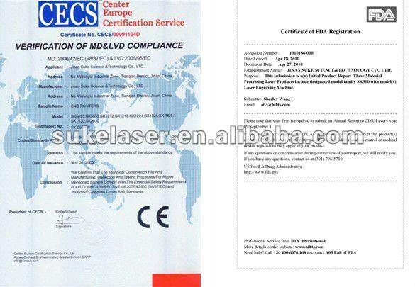 1300*900mm 90W Co2 Laser engraving machine price