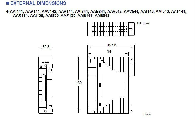 Yokogawa Analog Input Module AAI141-H50/K4A00 /A4S00 /A4S10 /A4D00 /A4D10 /A4D10 /CCC01