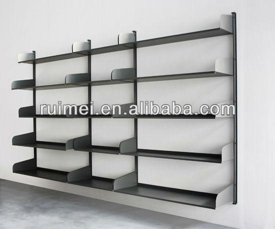 Wall Mounted Metal Book Shelf Contemporary Metal Bookcase Buy Wall Mount Metal Shelves Book