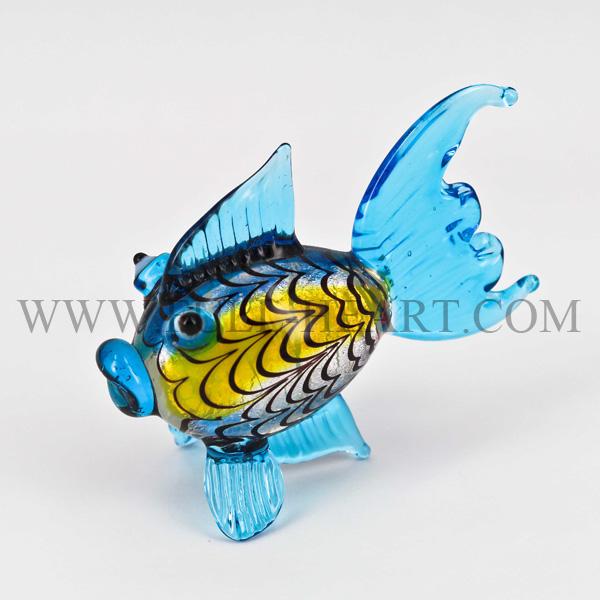 Murano Kaca Buatan Tangan Animal Figurine Kaca Ketrampilan Kaca