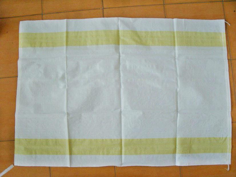 Riciclabile basso prezzo ampiamente utilizzato pp tessuto laminato blu sacco