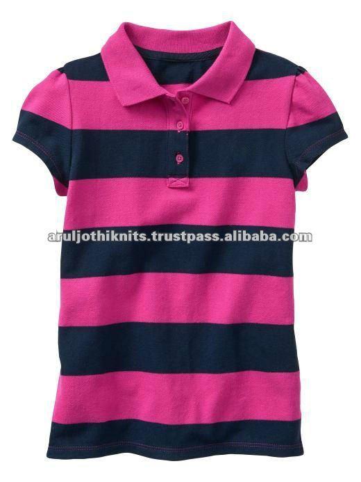 Girls Plain Polo T Shirt - Buy Little Girls Top 518db7191