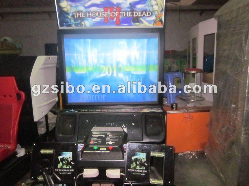 Gm3235 House Of Dead Arcade Machine Indoor Shooting Range
