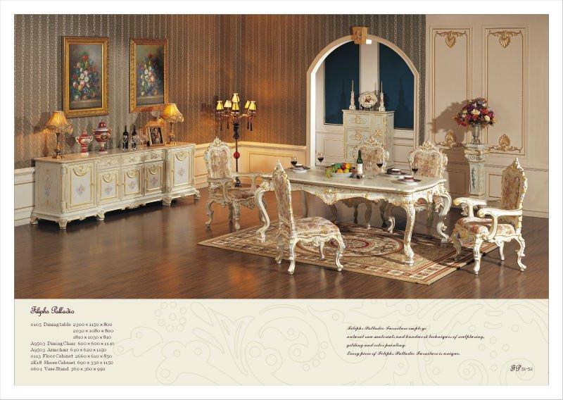 Estilo Francés Mesa De Comedor Antiguo Barroco Muebles - Buy Product ...