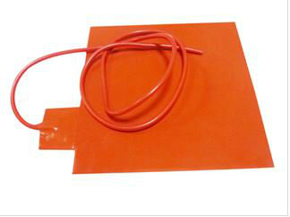 24V Silicone Heater 3d Printer Heated Bed 300*300mm 300w with Adhesive, 100k Thermistor