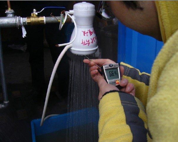तत्काल मिनी बौछार बिजली पानी हीटर बिजली पानी हीटर के लिए स्नान