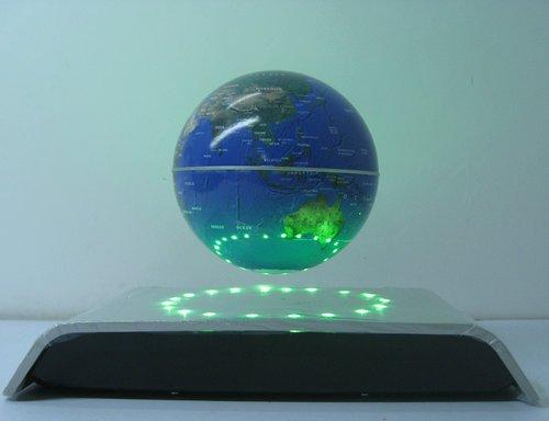 Wereldbol Met Licht : Magnetische zwevende wereldbol auto revolving magnetische