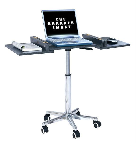 стол для ноутбука складной на колесиках
