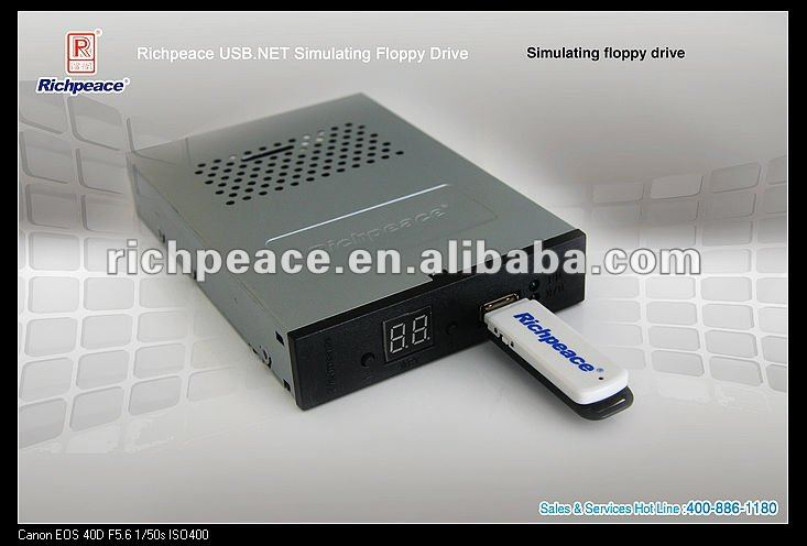 USB floppy drive for Fadal with CNC 32 MP controls