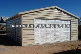 steel structure garage building steel shed 00068
