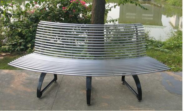 Panchina Rotonda : Gavin custom made in metallo ferro albero banco rotonda panchina