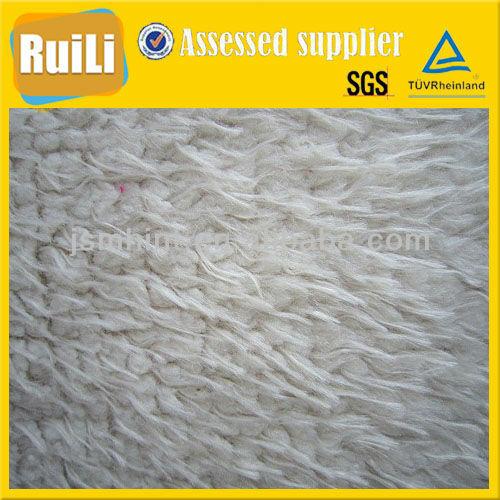 spray printing soild knitting pv plush fabric for plush toys