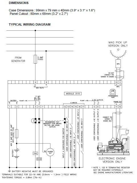 Dse    3110    Manual De Inicio Autom  tico M  dulo De Control