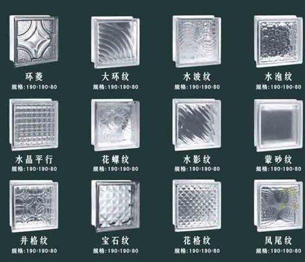 Material de construcci n de ladrillo de vidrio precio - Bloque de vidrio precio ...