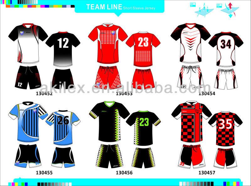 158ebbd73 Custom Sublimation 100%polyester Football Jersey,Soccer Jersey - Buy ...