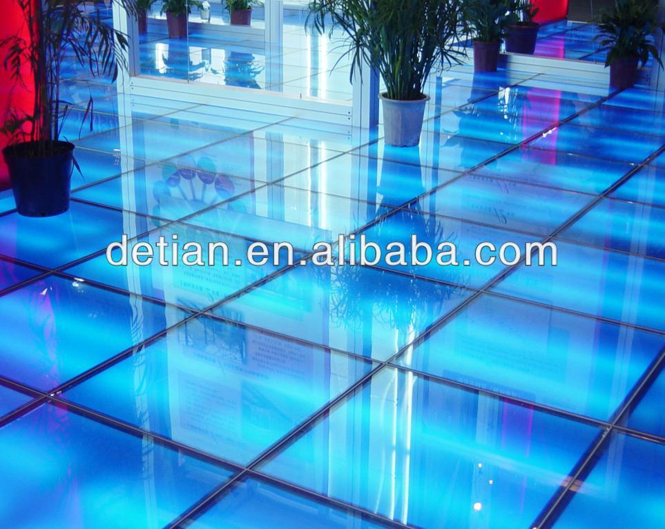 ... bleu lighting floor ... & Led Glass FloorLighting Floor In Shanghai In China - Buy Glass ...