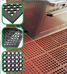 Interlocking Modules perforated rubber floor mat/rubber hole mats, View  rubber hole mat, GN Product Details from Qingdao Guangneng Rubbers And