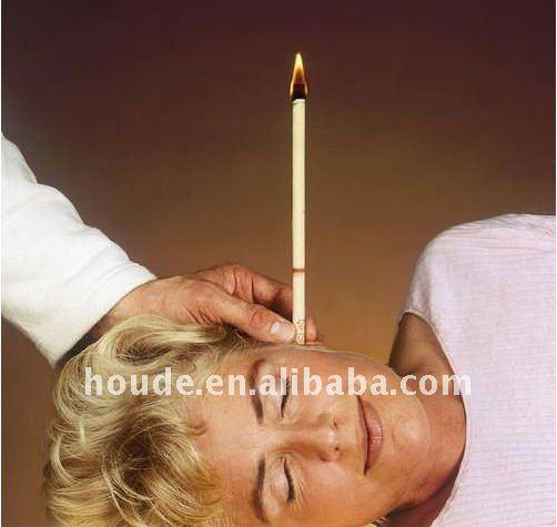 Ohrenschmalz Kerze