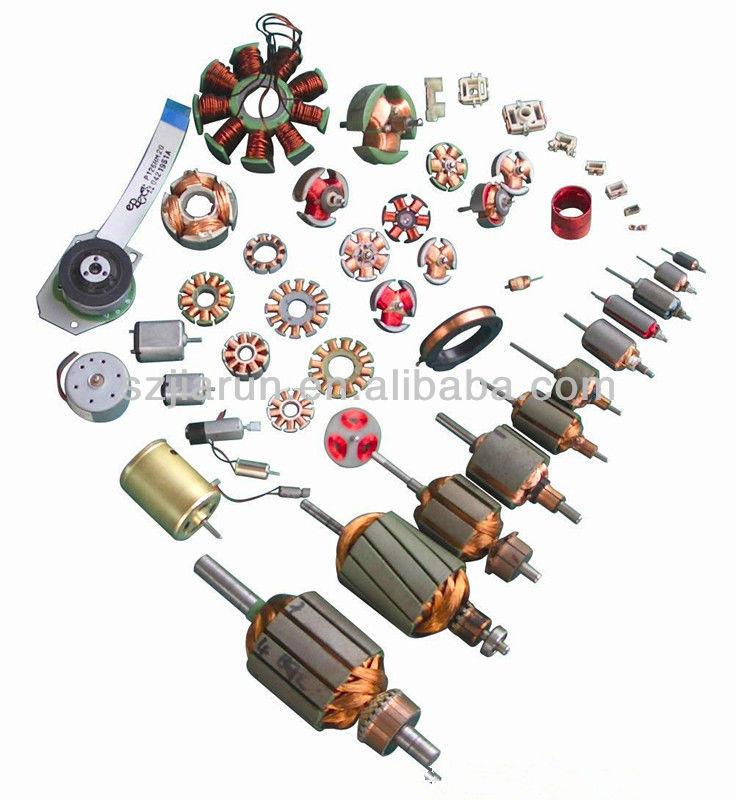 전기 모터 고정자 및 회전자 전기 브러시리스 모터