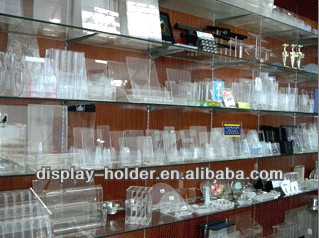 Wholesale acrylic display stand rotating with motor and led light