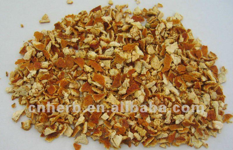 Seco Mandarina Cáscara Naranja Pericarpio Mandarin Peel Aurantii ...